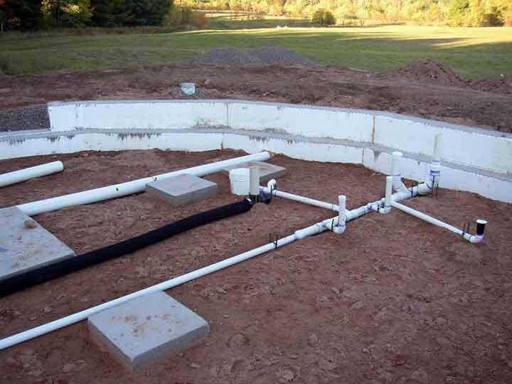 84 toilet plumbing in slab photo of plumber repairing for Cordwood house foundation